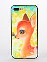 Pour Motif Coque Coque Arriere Coque Animal Flexible Silicone pour AppleiPhone 7 Plus iPhone 7 iPhone 6s Plus iPhone 6 Plus iPhone 6s