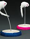 Игрушка для котов Игрушка для собак Игрушки для животных Интерактивный Когтеточка Мышь сизаль