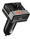 블루투스 FM 송신기 핸즈프리 블루투스 자동차 키트는 USB 충전 포트