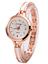 Женские Нарядные часы Часы-браслет Наручные часы Кварцевый Имитация Алмазный Стразы сплав Группа С подвесками Золотистый