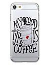 Для Чехлы панели Ультратонкий Прозрачный Задняя крышка Кейс для Мультяшная тематика Мягкий TPU для AppleiPhone 7 Plus iPhone 7 iPhone 6s