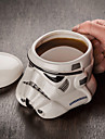 Novelty Drinkware, 400 ml Decoration Girlfriend Gift Ceramic Water Coffee Mug