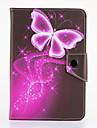Pour Avec Support Clapet Motif Coque Coque Integrale Coque Papillon Dur Cuir PU pour Samsung Tab 4 7.0 Tab 3 7.0 Tab 2 7.0 Tab A 7.0