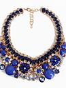 Femme Colliers/Sautoir Bijoux Bijoux Gemme Alliage euroamericains Europeen Fleur Mode Personnalise Bijoux PourSoiree Occasion speciale