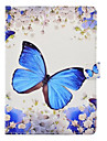 For Case Cover with Stand Pattern Butterfly Hard PU Leather for iPad (2017) Pro10.5 Pro9.7 iPad Air Air2 iPad234