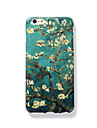 For Frosted Embossed Pattern Case Back Cover Case Flower Hard PC for Apple iPhone 7 Plus iPhone 7 iPhone 6s Plus/6 Plus iPhone 6s/6 iPhone