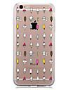용 패턴 케이스 뒷면 커버 케이스 타일 소프트 TPU 용 Apple 아이폰 7 플러스 아이폰 (7) iPhone 6s Plus/6 Plus iPhone 6s/6 iPhone SE/5s/5 iPhone 5c iPhone 4s/4