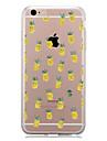 Pour Motif Coque Coque Arriere Coque Fruit Flexible PUT pour AppleiPhone 7 Plus iPhone 7 iPhone 6s Plus/6 Plus iPhone 6s/6 iPhone SE/5s/5