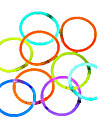 100pcs Glow Light Sticks Party Colored Glowstick Fluorescence Rings
