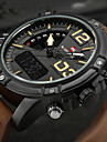 NAVIFORCE Herren Sportuhr Militaeruhr Kleideruhr Modeuhr Armbanduhr Armband-Uhr Einzigartige kreative Uhr digital Japanischer QuartzLED