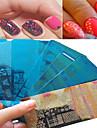 1PCS 달콤한 아름다운 레이스 디자인 스탬핑 플레이트 못 스테인레스 스틸 플레이트 화려한 디자인 매니큐어 미용 스텐실 네일 도구 bc01-10 스탬핑