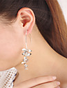 Women\'s Dangle Earrings Jewelry Dangling Style Acrylic Geometric Floral Euramerican Alloy Flower Jewelry For Party Daily Casual
