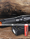 Flashlight Kits LED 2200 Lumens 5 Mode Cree XM-L T6 18650 Adjustable Focus Camping/Hiking/Caving Everyday Use Working
