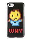 Pour Motif A Faire Soi-Meme Coque Coque Arriere Coque Dessin Anime Dur Polycarbonate pour AppleiPhone 7 Plus iPhone 7 iPhone 6s Plus