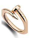 женские кольца группы кольца уникальный дизайн Euramerican моды персонализированные простой стиль сплава цинка нерегулярные украшения для