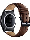 For Samsung Gear S2 Classic SM-R732/R7320 Smart Watch Genuine Leather Replacement Watch Band