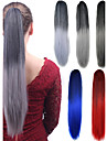 Long Straight Ponytail Women Synthetic Cheap Cosplay Party Hair Extension