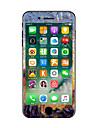 1 piece Anti-Rayures Peinture a l\'huile En Plastique Transparent Decalcomanie Glow in the Dark Motif PouriPhone 7 Plus iPhone 7 iPhone 6s