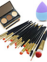 1 Eyebrow Powder Puff/Beauty Blender Makeup Brushes Dry Face Eyes Lips Other China
