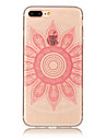 아이폰 7 plus 7 tpu material imd process 핑크 타로 패턴 phone case 6s plus 6 plus 6s 6 5s 5 se 5c