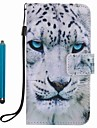 For Samsung Galaxy A3 A5 2017 Card Holder Wallet with Stand Case Full Body Case White Leopard Hard PU Leather A3 A5 2016