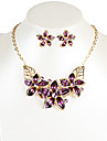 Alloy / Resin Jewelry Set Necklace/Earrings Daily / Casual 1set