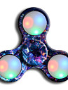 피젯 스피너 핸드 스피너 장난감 반지 회 전자 LED 회 전자 ABS EDC 스트레스와 불안 완화 오피스 데스크 완구 살생 시간 초점 장난감 ADD, ADHD, 불안, 자폐증 완화 LED 조명 노블티&개그 장난감