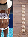 Women\'s Body Jewelry Belly Chain Body Chain Necklace Belly Chain Fashion Vintage Bohemian Hip-Hop Handmade Turkish Costume Jewelry Copper