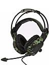SADES sa-931 casque de camouflage basse super stereo isolation du bruit gamer de jeu de bureau a domicile des casques confortables