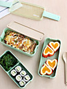 1pcs 3 слой тонкий bento коробка для завтрака коробка для продуктов питания lunchbox с ложкой&Переносить обед сумка микроволновая