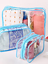 1pc Toiletry Bag Waterproof Dust Proof Foldable Travel Storage Toiletries for Unisex Waterproof Dust Proof Foldable Travel Storage