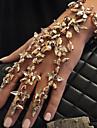 Femme Chaines & Bracelets Charmes pour Bracelets Bracelets d\'identification Cristal Mode Vintage Boheme Style Punk Bricolage Arc-en-ciel