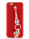 For Apple iPhone 7 7Plus Case Cover Rhinestone DIY Back Cover Case Solid Color Soft TPU 6s Plus  6 Plus  6s  6