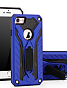 For Apple iPhone 7 7 Plus iPhone 6s 6 Plus iPhone SE 5s 5 Case Cover with Stand Plastic with TPU Frame