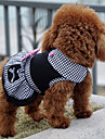 Dog Dress Dog Clothes Winter Summer Spring/Fall PrincessCute Sports Classic Fashion Casual/Daily Birthday Holiday Wedding Reversible