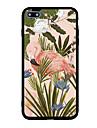 Pour iphone 7 plus 7 etui de couverture couverture arriere etui fleur flamant dur acrylique pour iphone 6s plus 6 plus 6s 6 5s 5 se