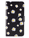 For Samsung Galaxy A3(2017) A5(2017) Case Cover The Small White Flowers Pattern PU Leather Cases for A5(2016) A3(2016) A5 A3