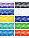 Silicone Protege Clavier Pour 13.3 \'\' 15.4 \'\' New MacBook Pro 13\'\' avec Touch Bar New MacBook Pro 15\'\' avec Touch Bar