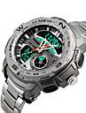 Smart Watch Etanche Longue Veille Sportif Multifonction Chronometre Fonction reveille Chronographe Calendrier Double Fuseaux Horaires