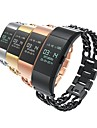 For Fitbit Charge 2 Strap Band Cowboy Chain Replacement Stainless Steel Classic Buckle Bracelet Strap