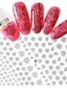 1 Autocollant d\'art de clou Maquillage cosmetique Nail Art Design