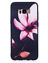 Для samsung galaxy s8 s8 plus кейс крышка цветок узор покрашенный чувство tpu мягкий чехол для телефона корпус s7 край s7