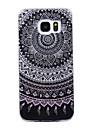 For Samsung Galaxy S8 S8 Plus Case Cove Mandala Pattern Flash Powder IMD Process TPU Material Phone Case S7 S6 Edge