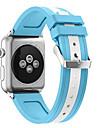Banda de relogio para maca watch serie 1 2 38mm bracelete de silicone classico de fivela de 42mm