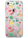 For iPhone 7 Plus 7 Case Cover Transparent Pattern Back Cover Case Flamingo Fruit Soft TPU for iPhone 6s Plus 6s 6 Plus 6 5s 5 SE