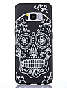 Case For Samsung Galaxy S8 S8 Plus Case Cover Skeleton Pattern Scrub Black Thicker TPU Material Soft Case Phone Case