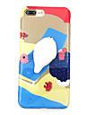 Para Case Tampa Estampada Faca Voce Mesmo Squishy Capa Traseira Capinha Desenho Animado Macia PUT para AppleiPhone 7 Plus iPhone 7 iPhone