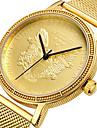 Mens luxury Gold Wristwatches Male Brand Watches Quartz Man Clocks Waterproof Stainless Steel Owl Watch Fashion Business relogio masculino