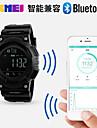 Men\'s Sport Watch Smart Watch Japanese Digital Calendar Water Resistant / Water Proof Alarm Pedometer Fitness Trackers Noctilucent Rubber