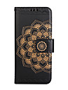 Case For Apple iPhone 7 Plus 7 Card Holder Wallet Flip Embossed Pattern Full Body Case Mandala Flower PU Leather for iPhone 6 6S 6Plus 6S Plus 5 5S SE